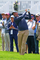 May 15, 2019 - Farmingdale, NY, U.S. - FARMINGDALE, NY - MAY 15:  Matt Kucher of the United States of America hits off the 1st hole during the PGA Championship on May 15, 2019 at Bethpage State Park the Black Course in Farmingdale, NY.  (Photo by Rich Graessle/Icon Sportswire) (Credit Image: © Rich Graessle/Icon SMI via ZUMA Press)