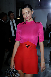 Miranda Kerr attending the Louis Vuitton show as part of Paris Fashion Week Ready to Wear Spring/Summer 2017 in Paris, France on October 05, 2016. Photo by Aurore Marechal/ABACAPRESS.COM
