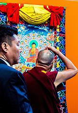 Dalai Lama visits the Netherlands - 15 Sep 2018