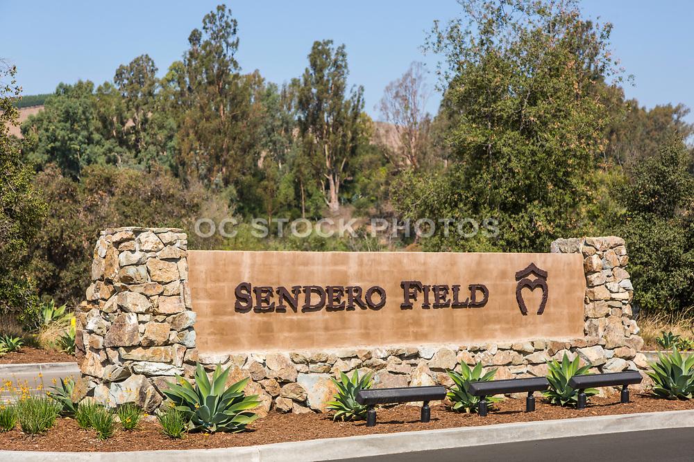 Sendero Field Monument in Rancho Mission Viejo
