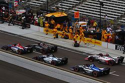 May 12, 2018 - Indianapolis, USA - 59 MAX CHILTON (GBR) CARLIN (USA) CHEVROLET (Credit Image: © Panoramic via ZUMA Press)