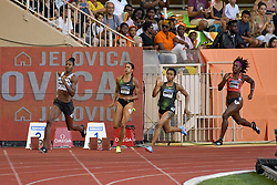 July 20, 2018 - Monaco, France - 400 metres dames - Floria Guei  (Credit Image: © Panoramic via ZUMA Press)