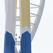 Emirates Spinnaker Tower painting II, Portsmouth, Hampshire.