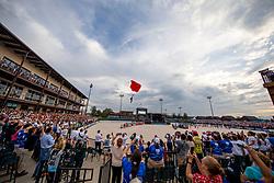 Fallschirmspringer<br /> Tryon - FEI World Equestrian Games™ 2018<br /> Eröffnungsfeier<br /> 11. September 2018<br /> © www.sportfotos-lafrentz.de/Stefan Lafrentz