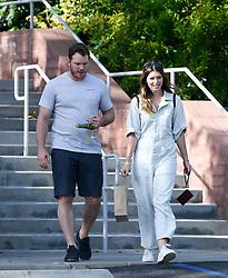 EXCLUSIVE: Chris Pratt and Katherine Schwarzenegger leave a boy scout meeting. 07 Nov 2018 Pictured: Chris Pratt and Katherine Schwarzenegger. Photo credit: MEGA TheMegaAgency.com +1 888 505 6342