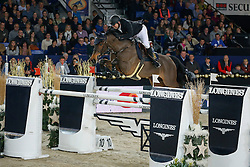 Fredricson Jens (SWE) - Lunatic  <br /> Longines FEI World Cup <br /> presented by Land Rover<br /> Vlaanderens Kerst Jumping Mechelen 2013<br /> © Dirk Caremans
