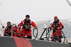 © Sander van der Borch.Alicante, 11 October 2008. Start of the Volvo Ocean Race. Puma's skipper, Ken Read at the bottom mark rounding just after the short downwind leg of the start.