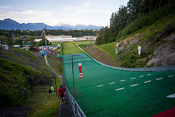 Hill during Ski Jumping Continental Cup, on July 7th, Kranj, Slovenia. Photo by Ziga Zupan / Sportida
