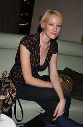 JADE PARFITT at a fashion show by ISSA held at Cocoon, 65 Regent Street, London on 21st September 2005.<br /><br />NON EXCLUSIVE - WORLD RIGHTS