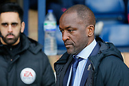 Southend United manager Chris Powell, Fourth Official Bhupinder Gill, during the EFL Sky Bet League 1 match between Southend United and Luton Town at Roots Hall, Southend, England on 26 January 2019.