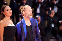 Dajana Roncione and Thom Yorke at the premiere gala screening of the film Suspiria at the 75th Venice Film Festival, Sala Grande on Saturday 1st September 2018, Venice Lido, Italy.