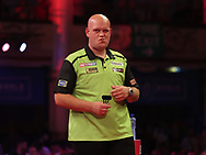 Michael van Gerwen during the PDC BetVictor World Matchplay Darts 2021 tournament at Winter Gardens, Blackpool, United Kingdom on 21 July 2021.