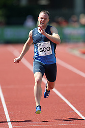 Grant Plenderleith in the 400m during the Loughborough International Athletics Meeting at the Paula Radcliffe Stadium, Loughborough. PRESS ASSOCIATION Photo. Picture date: Sunday May 20, 2018. See PA story ATHLETICS Loughborough. Photo credit should read: David Davies/PA Wire.