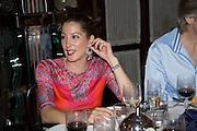 PRINCESS TAMARA CZARTORYSKI; Dinner in aid of the China Tiger Revival hosted by Sir David Tang and Stephen Fry  at China Tang, Park Lane, London. 1 October 2013. ,