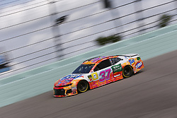 November 17, 2018 - Homestead, Florida, U.S. - Chris Buescher (37) takes to the track to practice for the Ford 400 at Homestead-Miami Speedway in Homestead, Florida. (Credit Image: © Justin R. Noe Asp Inc/ASP)