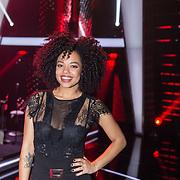 NLD/Hilversum/20180126 - The Voice of Holland 2017 show 1, Tjindjara  Metschendorp