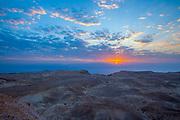 Sunrise in the Judean Desert, Israel