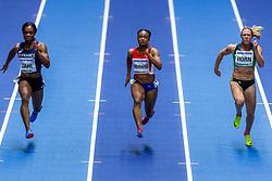 02-02-2018 GBR: World Indoor Championships Athletics day 2, Birmingham<br /> Carina Horn RSA, Ezinne Okparaebo NOR, Carolle Zahi FRA