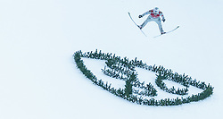 01.01.2016, Olympiaschanze, Garmisch Partenkirchen, GER, FIS Weltcup Ski Sprung, Vierschanzentournee, Bewerb, im Bild Kenneth Gangnes (NOR) // Kenneth Gangnes of Norway during his Competition Jump of Four Hills Tournament of FIS Ski Jumping World Cup at the Olympiaschanze, Garmisch Partenkirchen, Germany on 2016/01/01. EXPA Pictures © 2016, PhotoCredit: EXPA/ JFK