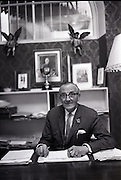 28/06/1965<br /> 06/28/1965<br /> 28 June 1965<br /> Mr. S.A. Revell, Personnel Manager, Brown Thomas Ltd., Dublin, in his office on Grafton Street.