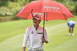 October 27, 2017 - Kuala Lumpur, Malaysia - Sang Hyun Park of South Korea during day two of the Sime Darby LPGA Malaysia at TPC Kuala Lumpur East Course on October 27, 2017 in Kuala Lumpur, Malaysia  (Credit Image: © Chris Jung/NurPhoto via ZUMA Press)