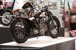 Passion Built exhibition in the Buffalo Chip's Motorcycles as Art gallery during the 78th annual Sturgis Motorcycle Rally. Sturgis, SD. USA. Friday August 10, 2018. Photography ©2018 Michael Lichter.