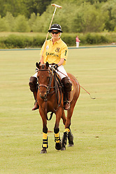 Asprey World Class Cup polo held at Hurtwood Park Polo Club, Ewhurst, Surrey on 17th July 2010.<br /> Picture shows:- AMY GUY