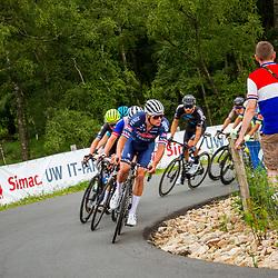 WIJSTER (NED) June 20: <br /> CYCLING <br /> Dutch Nationals Road Men up and around the Col du VAM<br /> Mathieu Van Der Poel (Netherlands / Team Alpecin - Fenix) on the force