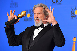 January 6, 2019 - Los Angeles, California, U.S. - Jeff Bridges in the Press Room during the 76th Annual Golden Globe Awards at The Beverly Hilton Hotel. (Credit Image: © Kevin Sullivan via ZUMA Wire)