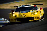 June 13-18, 2017. 24 hours of Le Mans. 63 Corvette Racing, Corvette C7R, Jan Magnussen, Antonio Garcia, Jordan Taylor