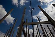 Betim_MG, Brasil.<br /> <br /> Fotos das obras de construcao do shopping Metropolitan Garden em Betim, Minas Gerais.<br /> <br /> Works for construction of Metropolitan Garden mall in Betim, Minas Gerais.<br /> <br /> Foto: MARCUS DESIMONI / NITRO