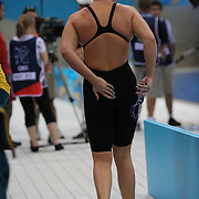 Leisel Jones, Australia, training at the Aquatic Centre at Olympic Park, Stratford during the London 2012 Olympic games preparation at the London Olympics. London, UK. 25th July 2012. Photo Tim Clayton
