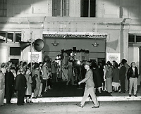 """1951 Premiere of """"Hollywood Story"""" at the Academy Award Theater on Melrose Ave."""