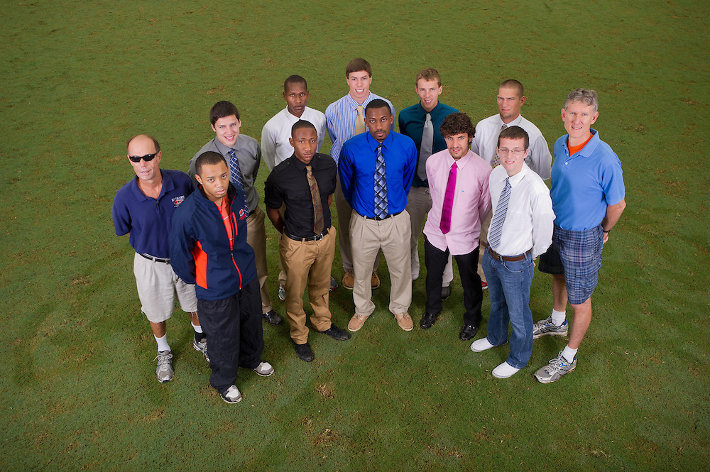 Aug 18, 2012; Morrow, GA, USA; Portraits of Clayton State University's cross country men's team. Photo by Kevin Liles/kdlphoto.com