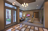 Building interior image of Post Fallsgrove apartments in Rockville MD by Jeffrey Sauers of Commercial Photographics