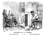Effects of a Strike Upon the Capitalist and Upon the Working Man.