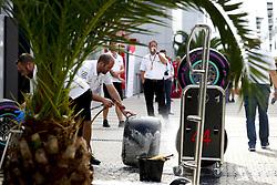 September 28, 2018 - Sochi, Russia - Motorsports: FIA Formula One World Championship 2018, Grand Prix of Russia, .Pirelli, tire, tires, tyre, tyres, wheel, wheels, Reifen, Rad, feature  (Credit Image: © Hoch Zwei via ZUMA Wire)