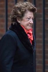 Downing Street, London, February 2nd 2016. Minister of State at the Foreign & Commonwealth Office Baroness Anelay arrives at No 10 ahead of attending the weekly Cabinet meeting. ///FOR LICENCING CONTACT: paul@pauldaveycreative.co.uk TEL:+44 (0) 7966 016 296 or +44 (0) 20 8969 6875. ©2015 Paul R Davey. All rights reserved.