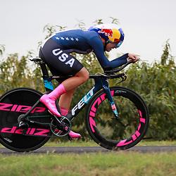 26-09-2020: wielrennen: WK weg vrouwen: Imola<br />Chloe Dygert crashed and DNF