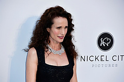 amfAR Cannes Gala 2019 - Red Carpet Arrivals. 23 May 2019 Pictured: Andie MacDowell. Photo credit: Daniele Cifalà / MEGA TheMegaAgency.com +1 888 505 6342