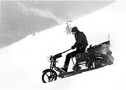 Dangerous Sports Club ski race. St. Moritz. 1983.<br />© Copyright Photograph by Dafydd Jones<br />66 Stockwell Park Rd. London SW9 0DA<br />Tel 0171 733 0108