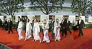 Angelina Jolie arriving, Golden Globes. Beverley Hilton Hotel. Los Angeles. 23/1/2000© Copyright Photograph by Dafydd Jones<br /> 66 Stockwell Park Rd. London SW9 0DA<br /> Tel 0171 733 0108. www.dafjones.com