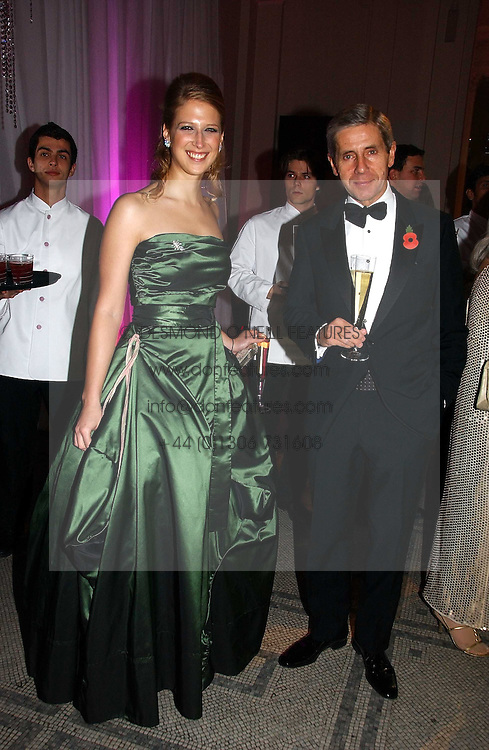 LADY GABRIELLA WINDSOR and STUART ROSE at the British Fashion Awards 2006 sponsored by Swarovski held at the V&A Museum, Cromwell Road, London SW7 on 2nd November 2006.<br />