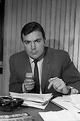 1966 - A.J. (Tony) O'Reilly, Managing Director of Irish Sugar Co. at his office