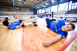 Matjaz Brumen at practice of Slovenian Handball Men National Team, on June 4, 2009, in Arena Kodeljevo, Ljubljana, Slovenia. (Photo by Vid Ponikvar / Sportida)