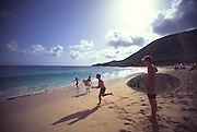 Sandy Beach, Oahu, Hawaii (editorial use only, no model release)<br />