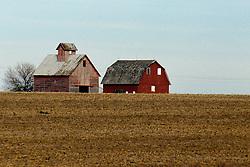 Barn and corn crib