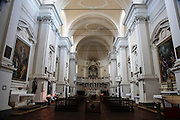 Interior of San Biagio church, Montepulciano, Tuscany, Italy