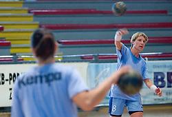 Vesna Pus at practice of Slovenian Handball Women National Team, on June 3, 2009, in Arena Kodeljevo, Ljubljana, Slovenia. (Photo by Vid Ponikvar / Sportida)