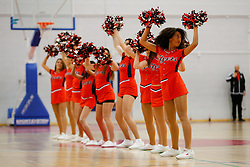 Flyers cheerleaders - Photo mandatory by-line: Rogan Thomson/JMP - 07966 386802 - 13/02/2015 - SPORT - BASKETBALL - Bristol, England - SGS Wise Arena - Bristol Flyers v Surrey United - BBL Championship.